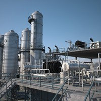 Refinery Unit 2 (3dsmax 2013)
