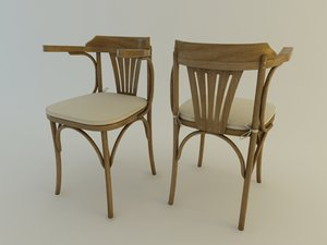 chair berlim 3d 3ds