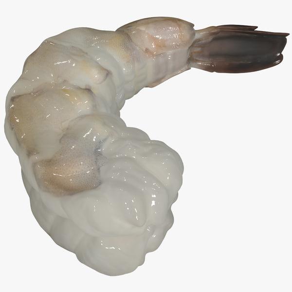 fresh shrimp 2 3d max