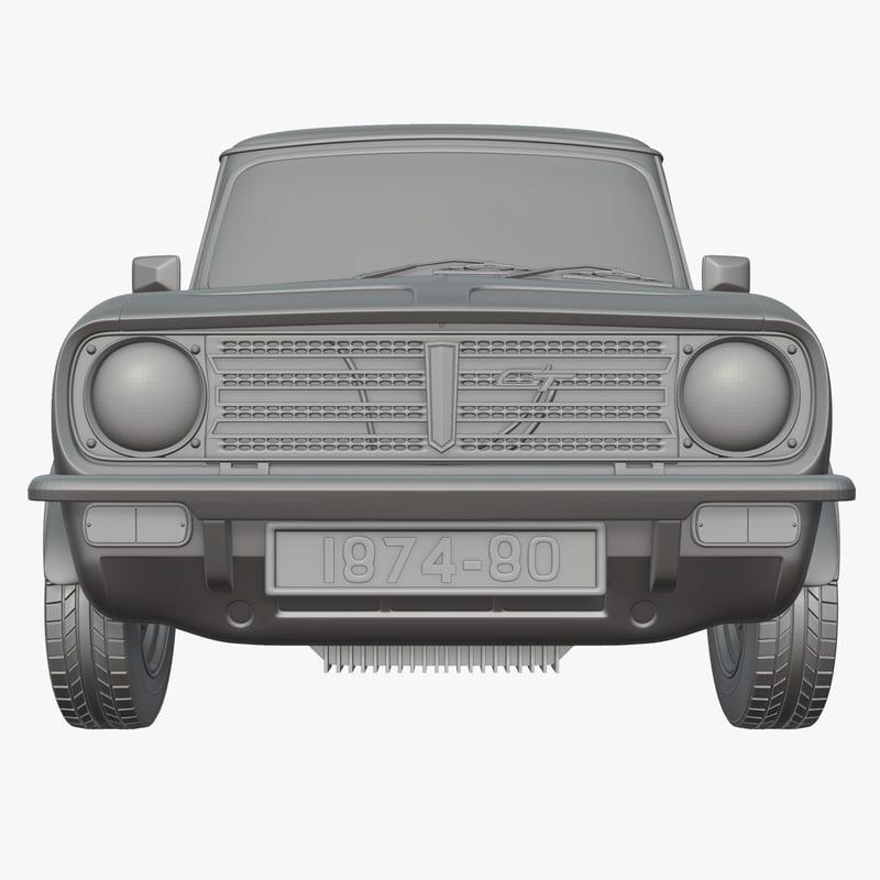 3d model mini gt 1275