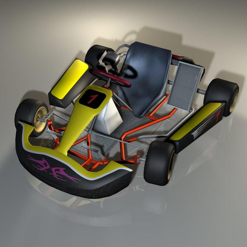 Kart 3d Model