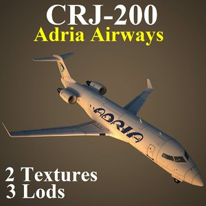 3d regional jet 2 adr model