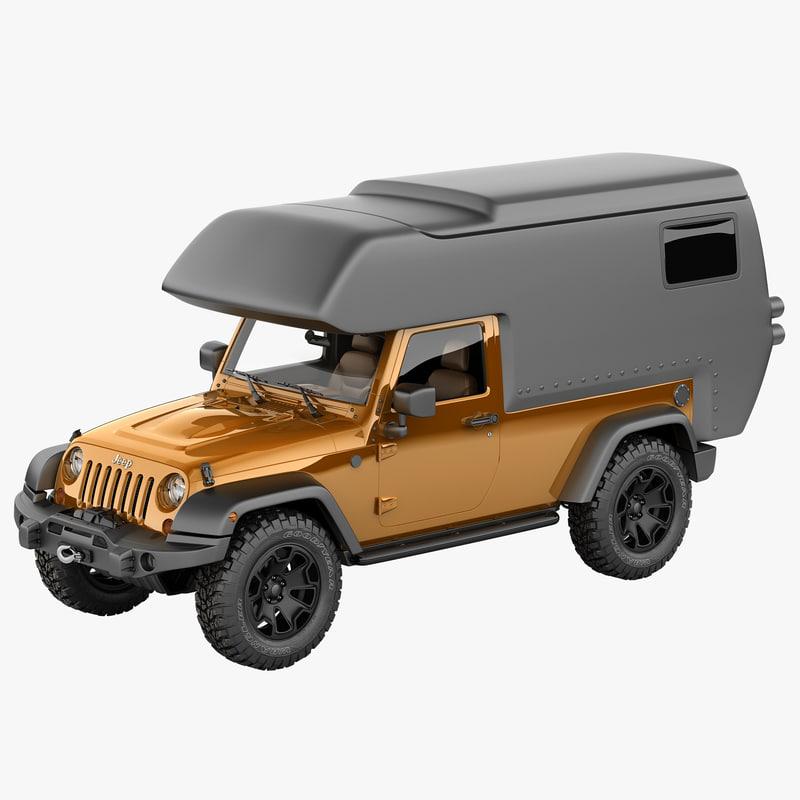 Jeep Wrangler Moab Camper Max