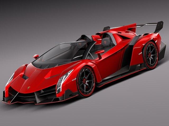 2014 roadster sport lamborghini 3d max