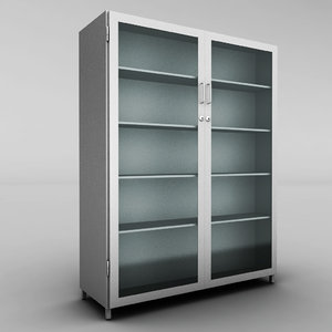 3ds max metal cabinet