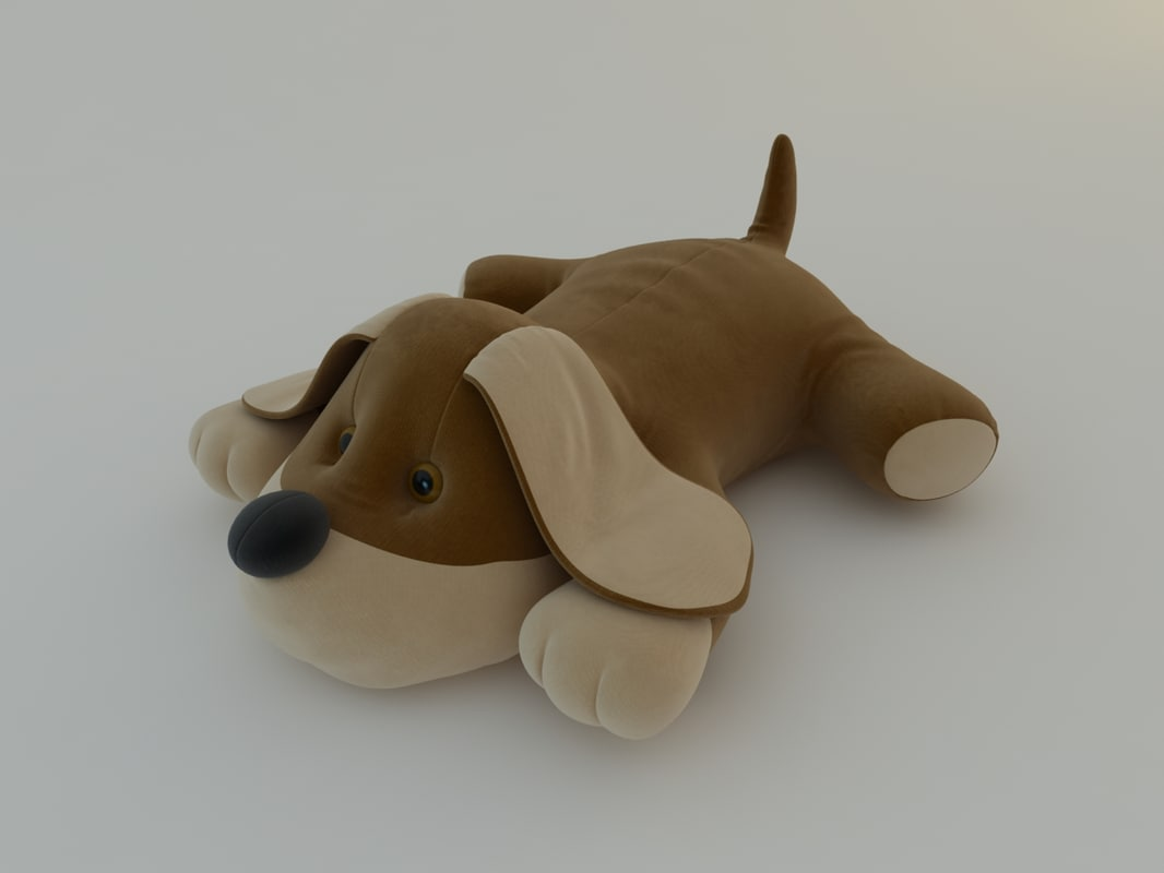 max stuffed animal dog