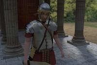 3d soldier roman man