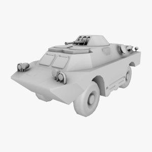 brdm-2 armored scout obj