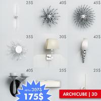 ac wall lights set max