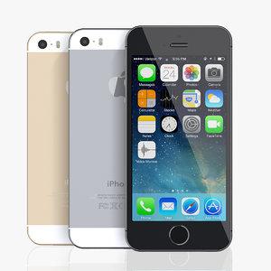 3d copy iphone 5s model