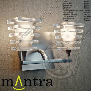 keops lighting mantra 3d model