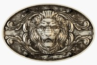3d medallion lion model