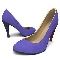 3d c4d women platform shoes 2