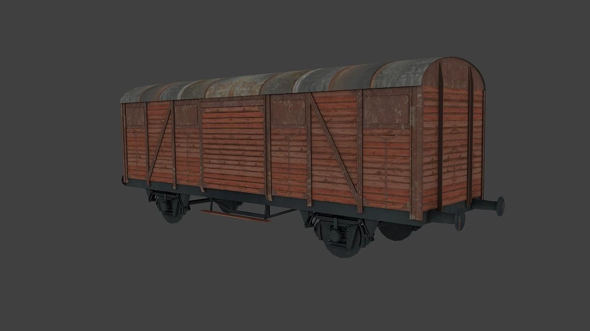 3d wagon train freight