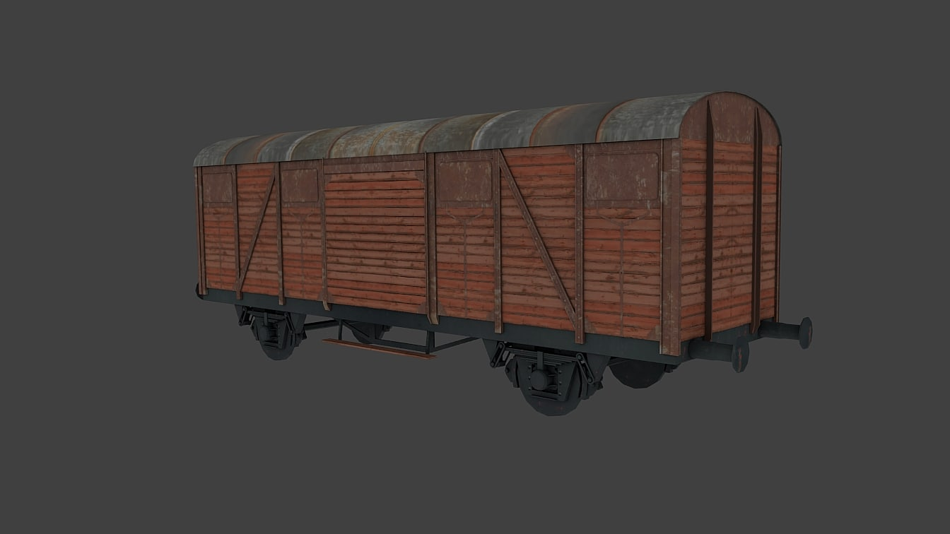 3d wagon train freight