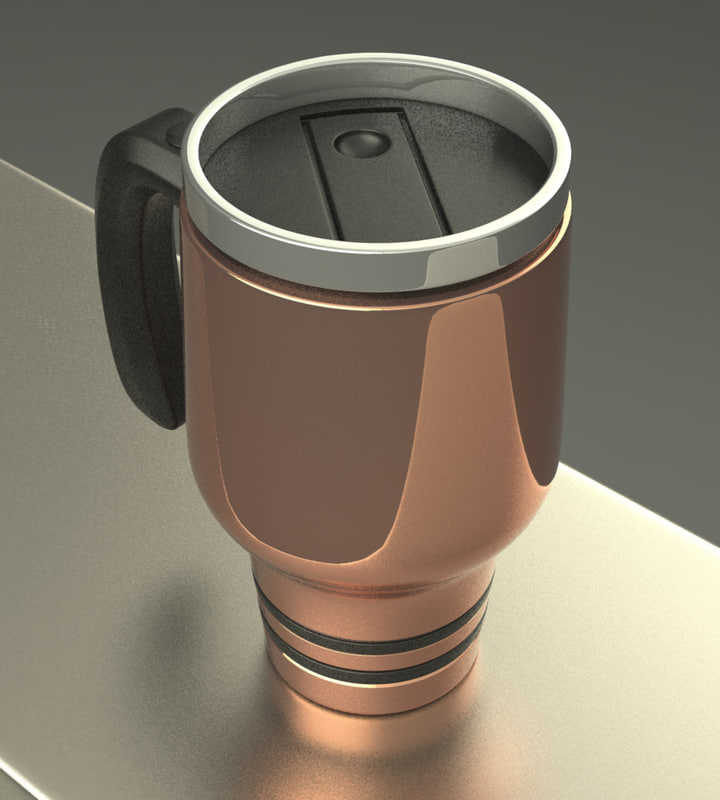 thermal coffee mug 3ds