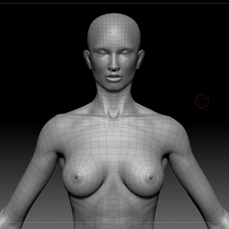 3ds max base mesh