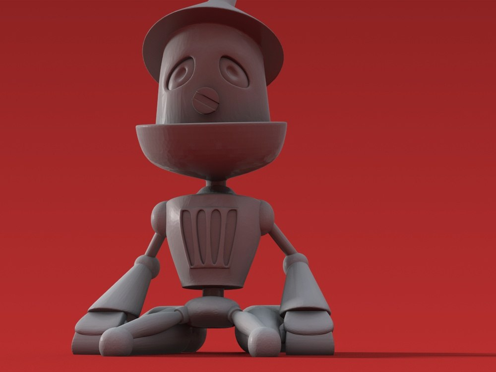 Valentine 3D Printable - Sad Tin Man