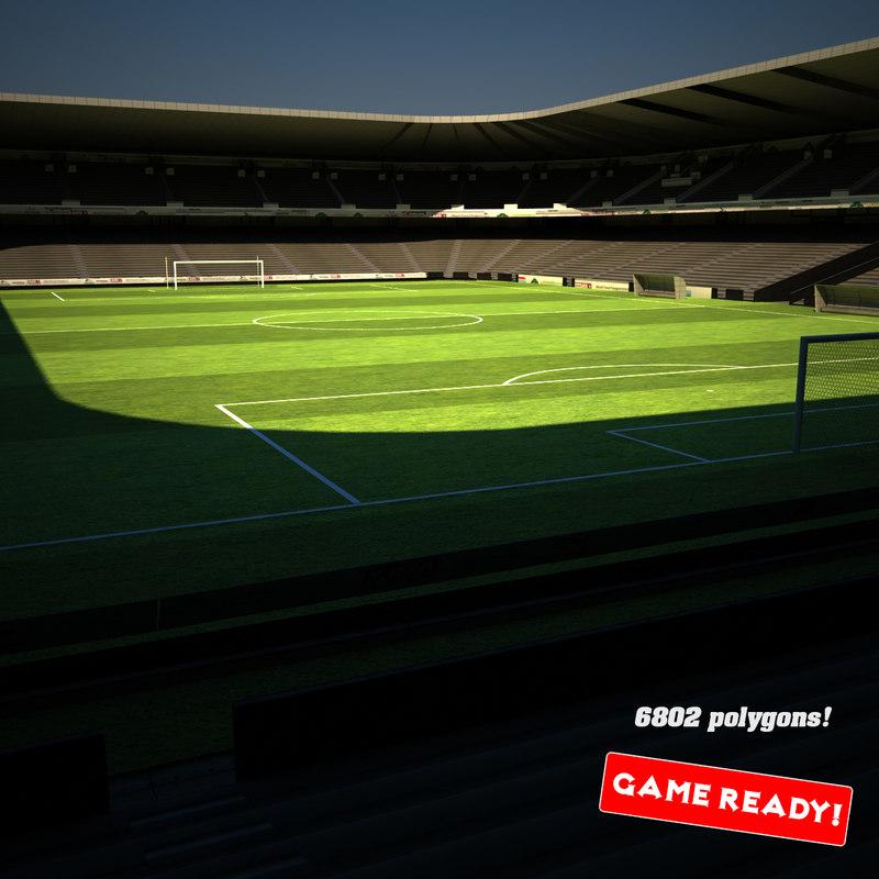 max soccer stadium