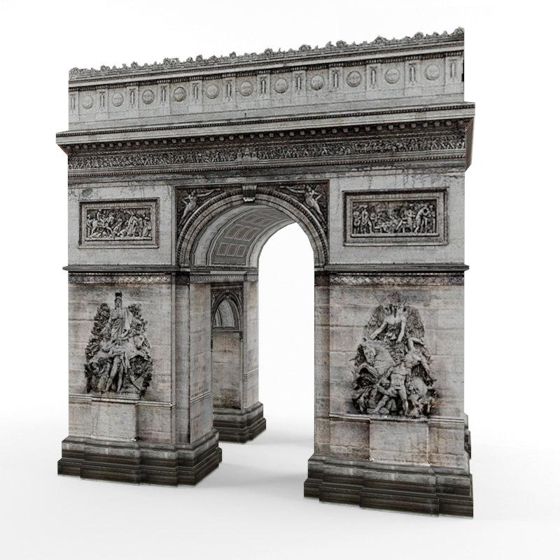 3d arch triumph