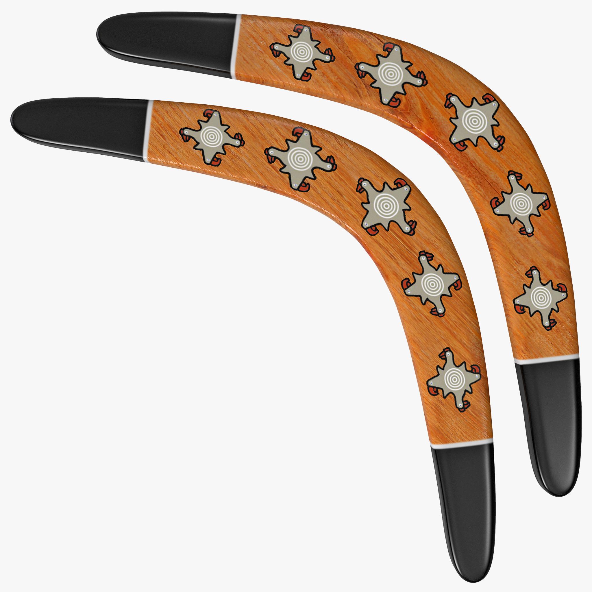 toy boomerang 3d model