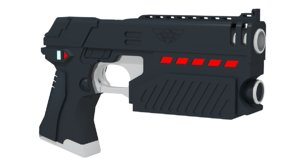 3d model lawgiver mark ii