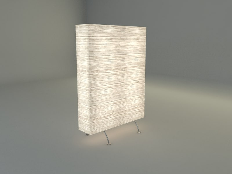 ikea orgel floor divider 3d model