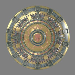 max inka aztek sun emblem