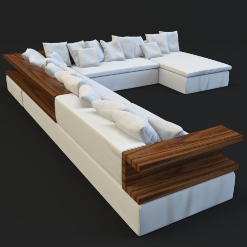 couch sofa c4d