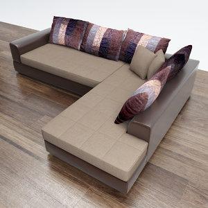 3d model sofa diva