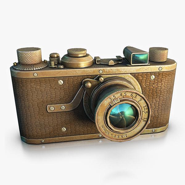 3d model camera normal
