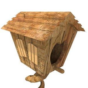 bird house 3d max