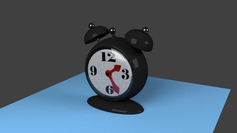 maya black alarm clock