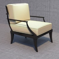 restoration hardware klismos lounge chair