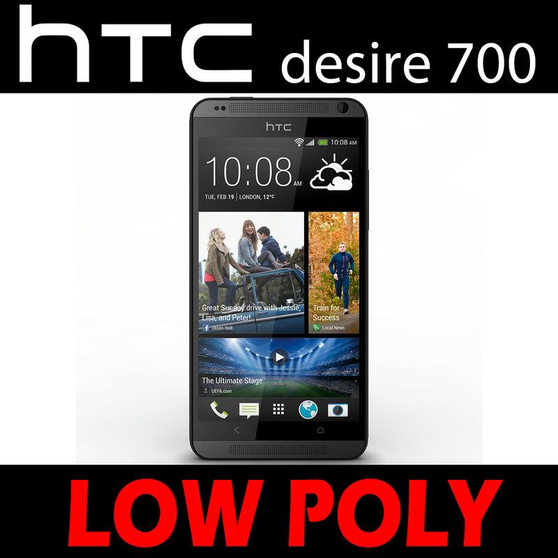 3ds max htc desire 700
