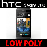 htc desire 700 low poly