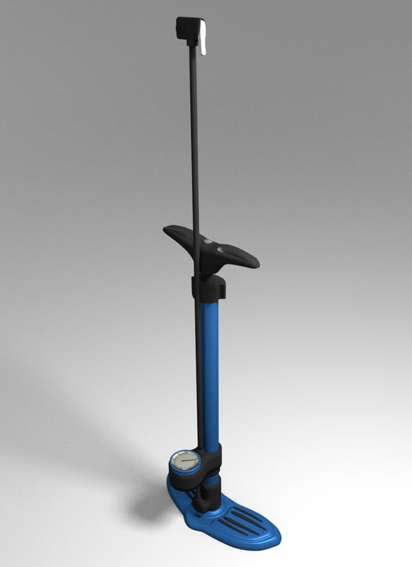 3ds bike pump