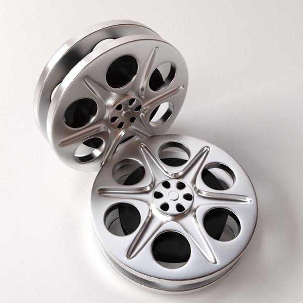 3ds film reels