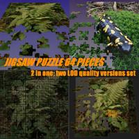 puzzle jigsaw 3d model