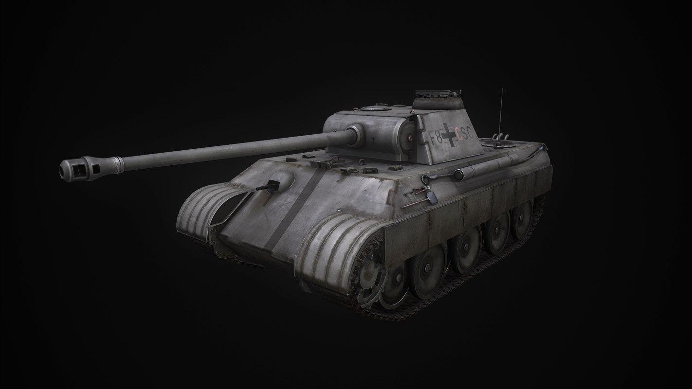obj german tank