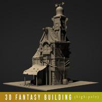3D citadel model