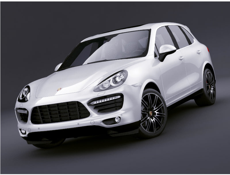 3ds max porsche cayenne turbo