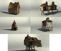 shack 3d model