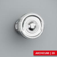 door handle 3d model