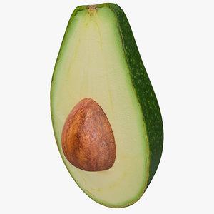 max avocado cut half