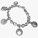charm bracelet 3D models