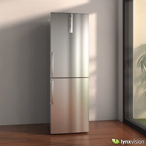 3d max fridge refrigerator bosch