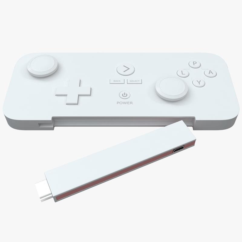 3d model gamestick