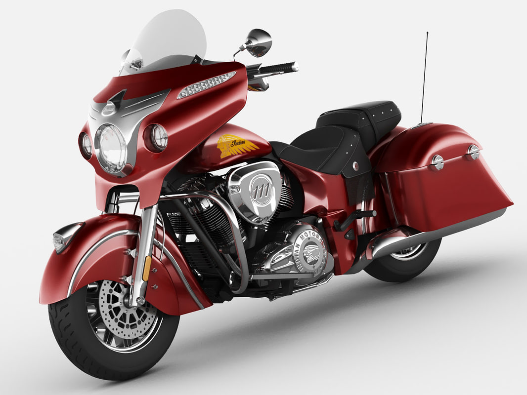 3d model indian chieftain 2014