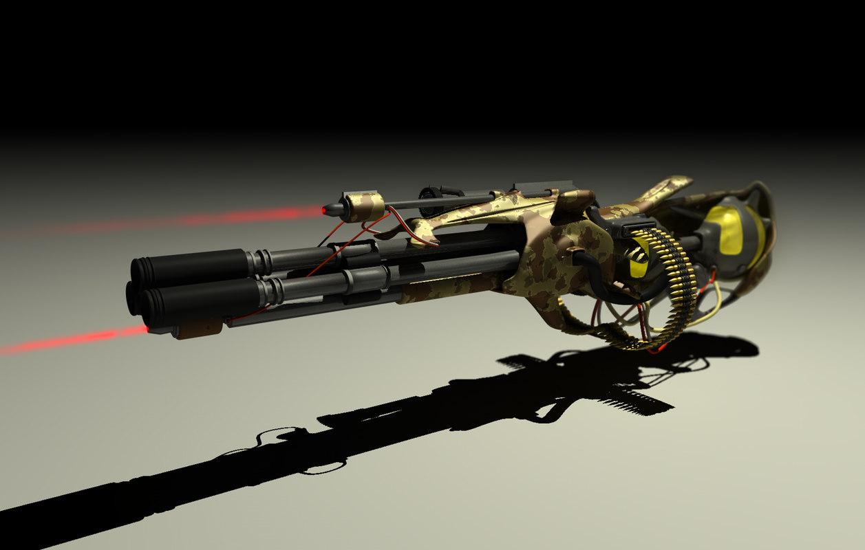 blender plasma gun